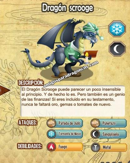 imagen de las caracteristicas del dragon scrooge