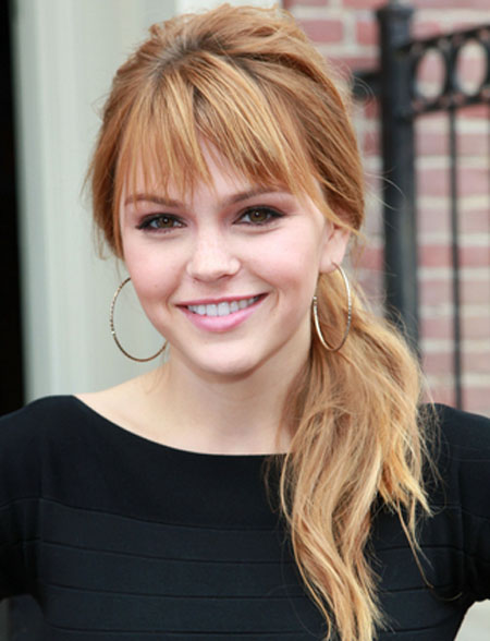Aimee Teegarden Sexy Summer Hairstyles