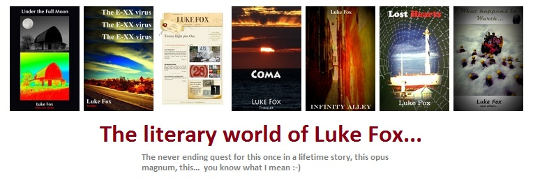 Luke Fox's literary world...