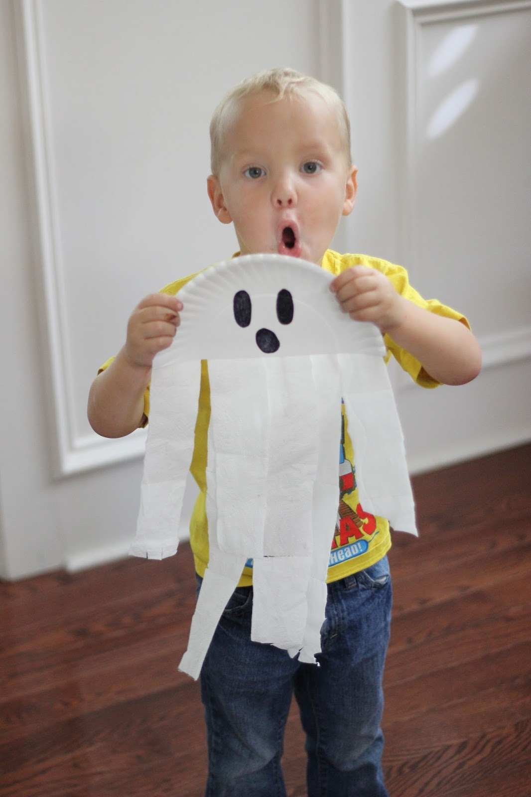 toddler approved   paper plate ghost craft for preschoolers