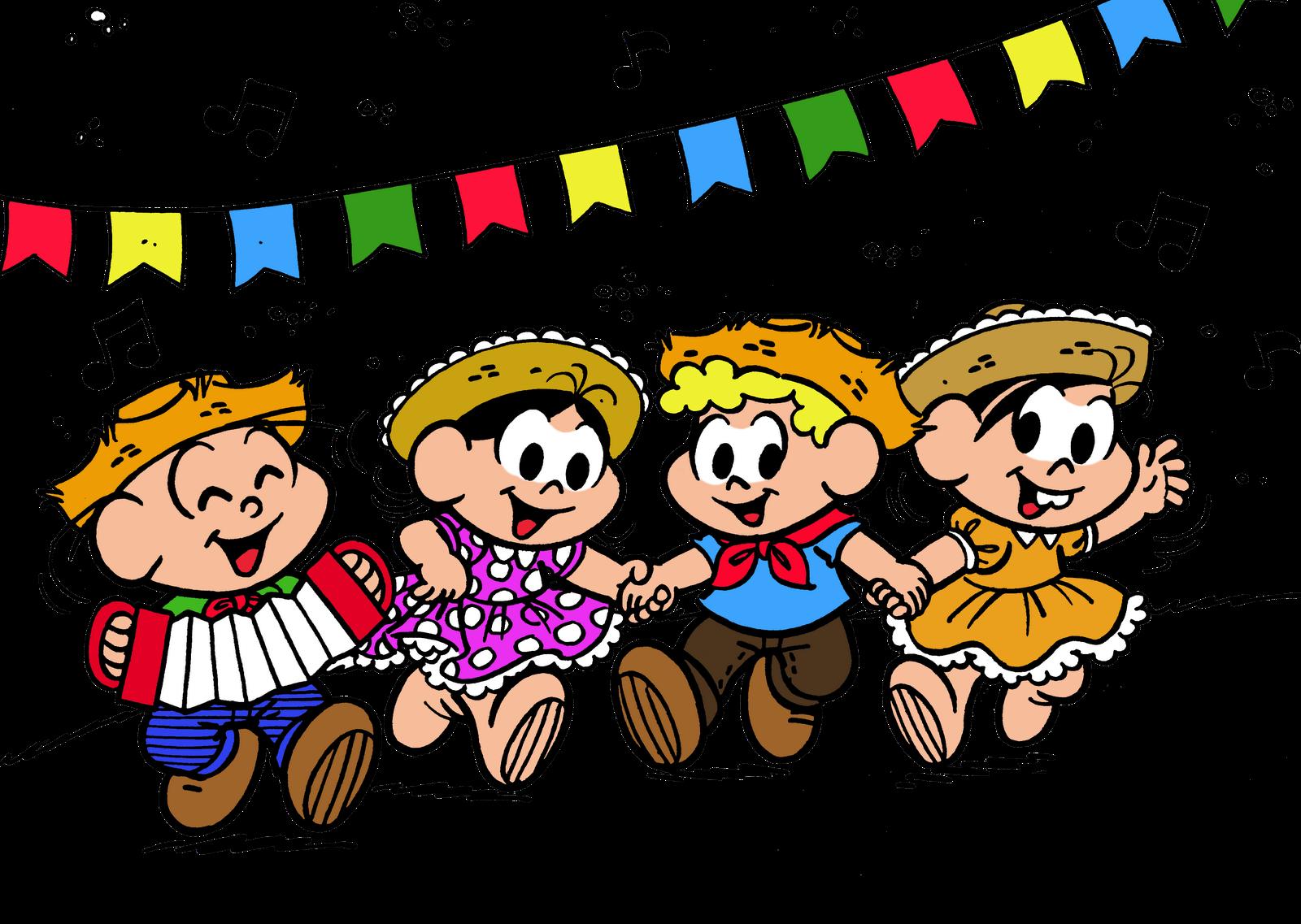 Festa Junina   Turma Da M  Nica By Maur  Cio De Sousa
