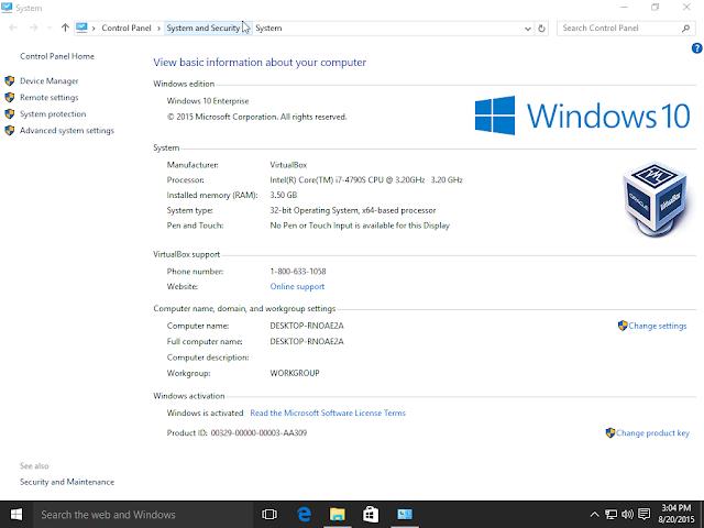 Windows 10 Pro AIO 18in1 -  Pre-Activated