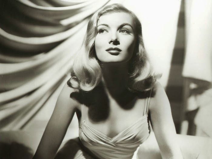 Veronica Lake's biography and sad story.