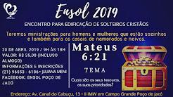 FICHA DE INSCRIÇÃO ENSOL 2019