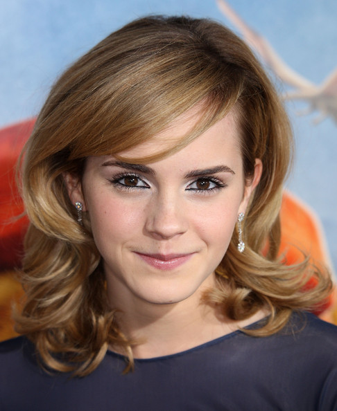 Emma Watson Medium Hairstyles