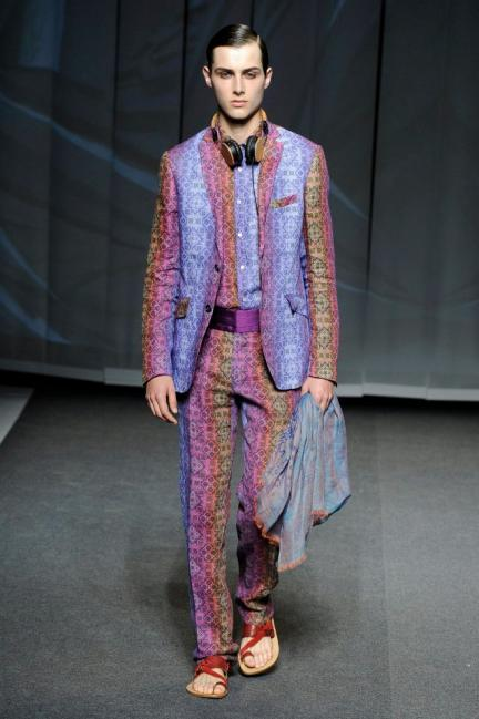 Etro Spring-Summer 2013 Menswear Photo 11