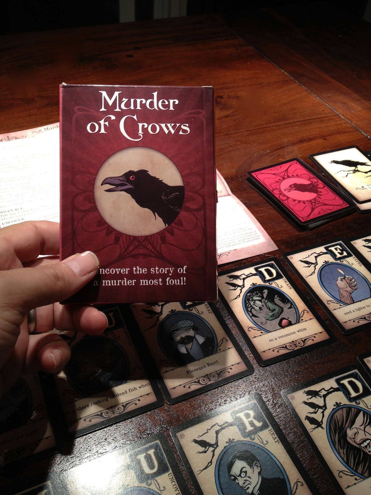 of murder manual a crows
