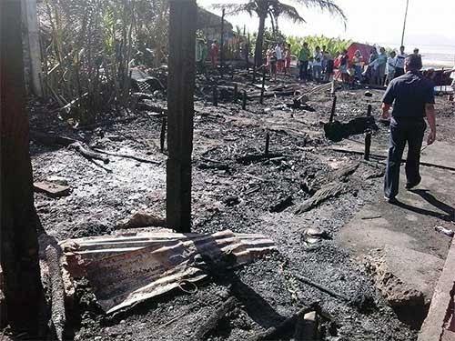 Brgy. Bulabog, Sorsogon City fire incident