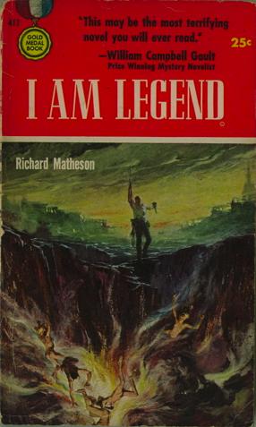 The I Am Legend Archive: I Am Legend named Vampire Novel of the ...