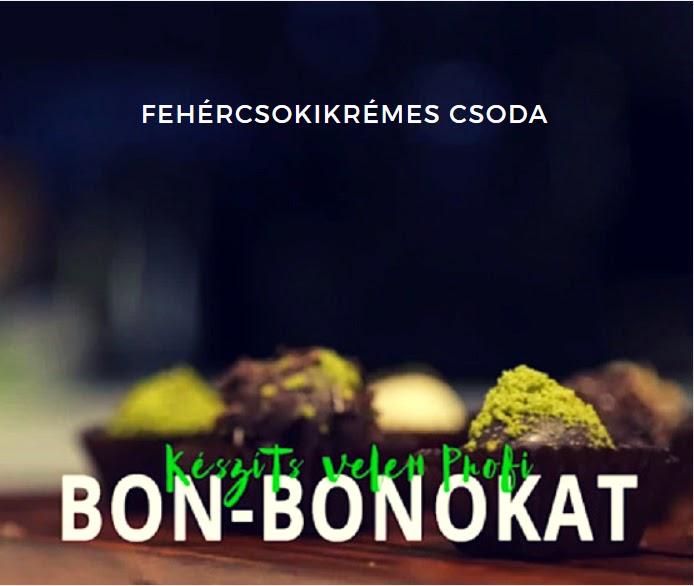 csoki bonbon készítése házilag recepttel