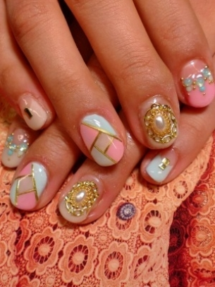 kewtified easy nail art designs for short nails 20122013