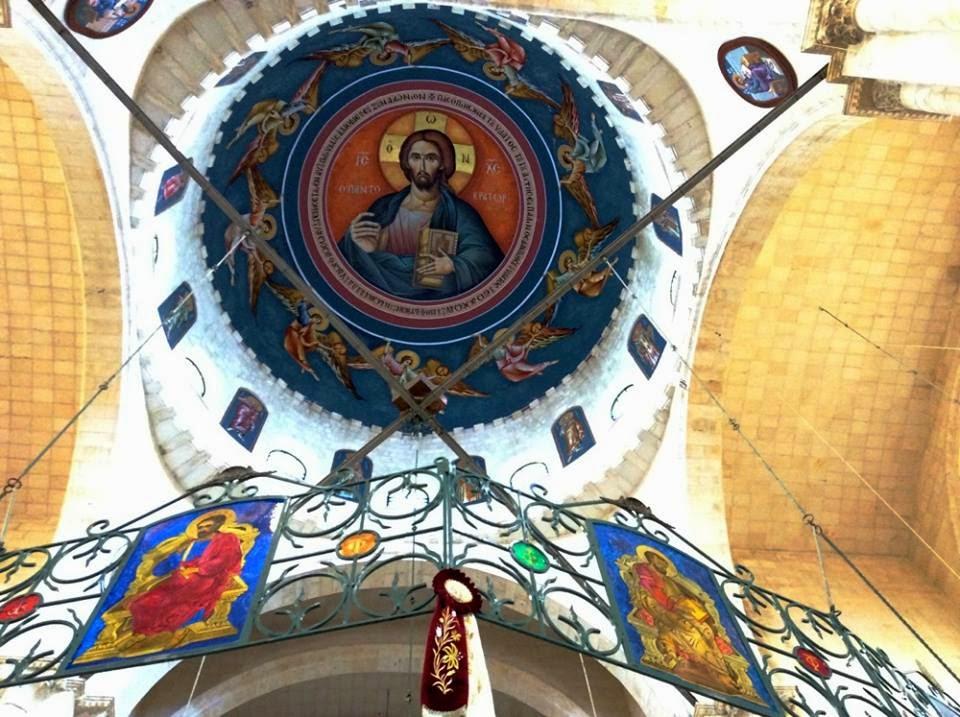 B.O.Gramo Byzantine Art : ''Jacob's well'' church , Nabluz ...