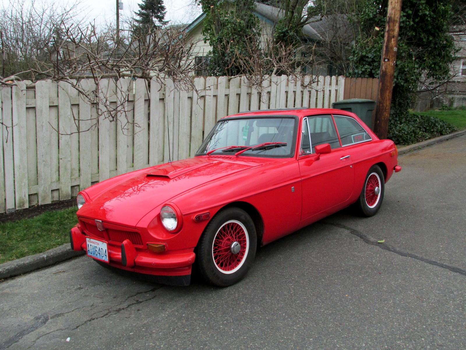 Seattles Classics 1970 MG MGB GT