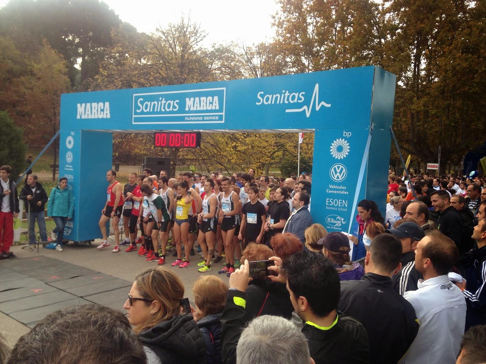 10k sanitas marca running series zaragoza