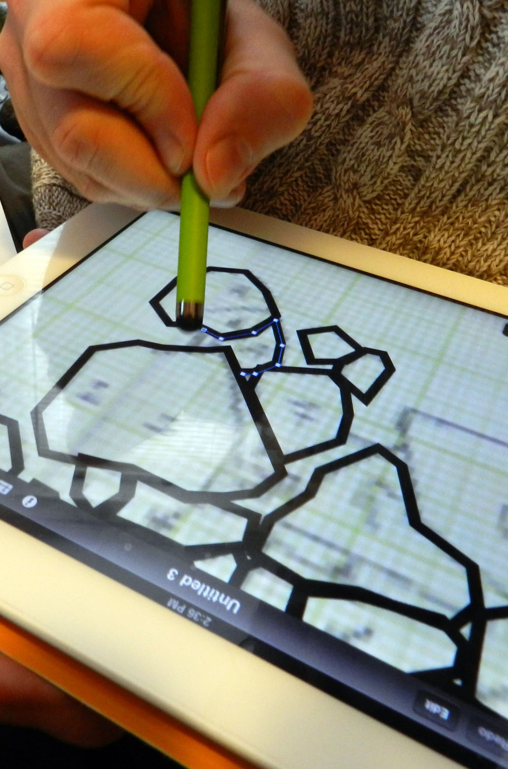 Elfshot IDraw Archaeological Features On The IPad
