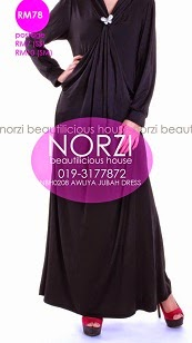 NBH0208 AWLIYA DRESS (MATERNITY FRIENSLY)