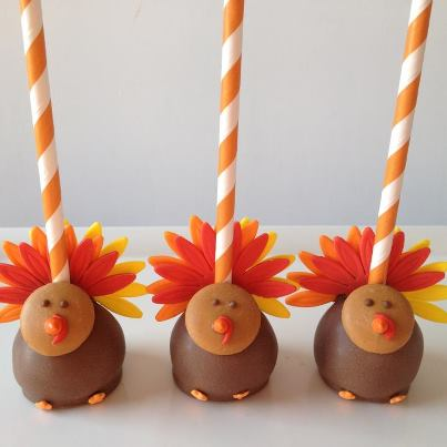 Images Of Turkey Cake Pops : 20 of the Best Thanksgiving Fun Food Desserts! - Kitchen ...
