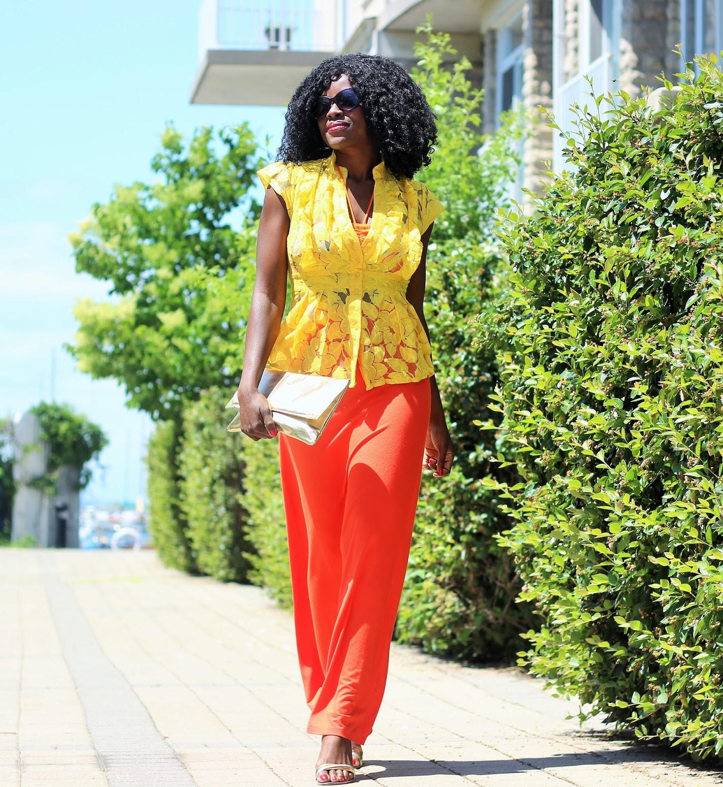 SUMMER LAYERING Bikini Style with Lace Top x Maxi Skirt