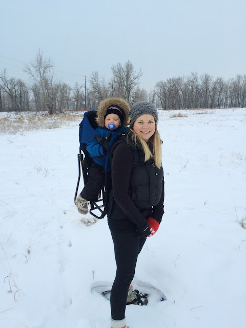 Snowshoeing in Calgary