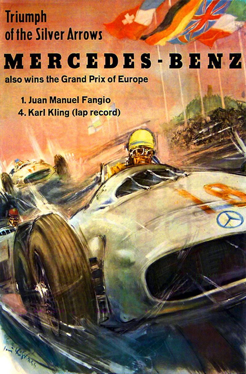 Jake 39 s mercedes benz world vintage mercedes benz grand for Mercedes benz poster
