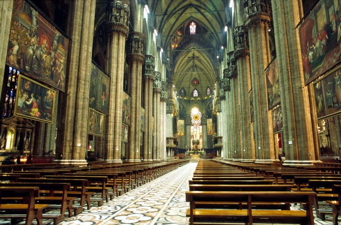 Catedral de Milán, interior