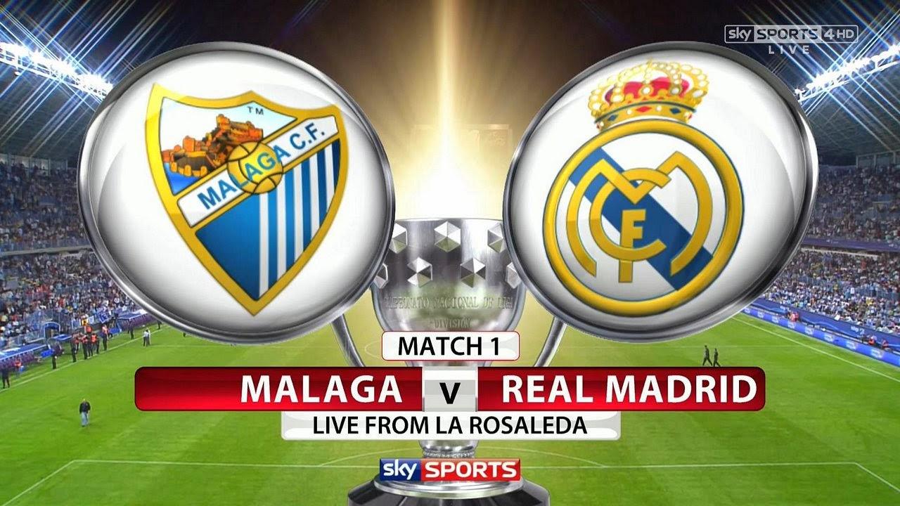 InfoDeportiva - Informacion al instante. MALAGA VS REAL MADRID