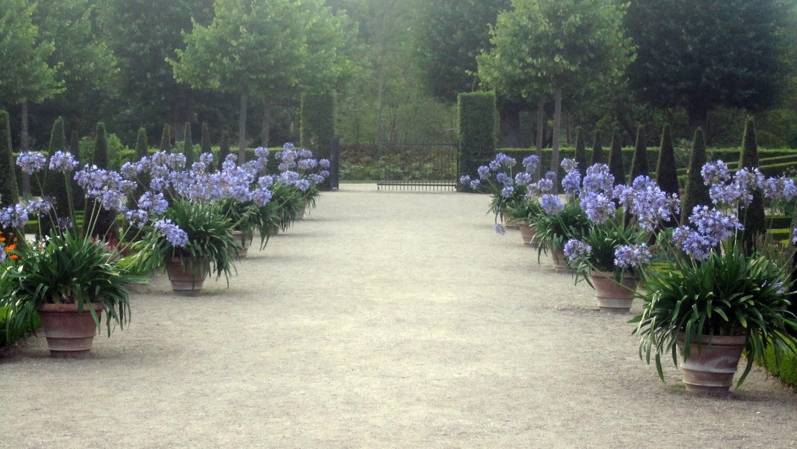 I vått och torrt trädgårdsdesign: en helt fantastisk slottsträdgård!!!