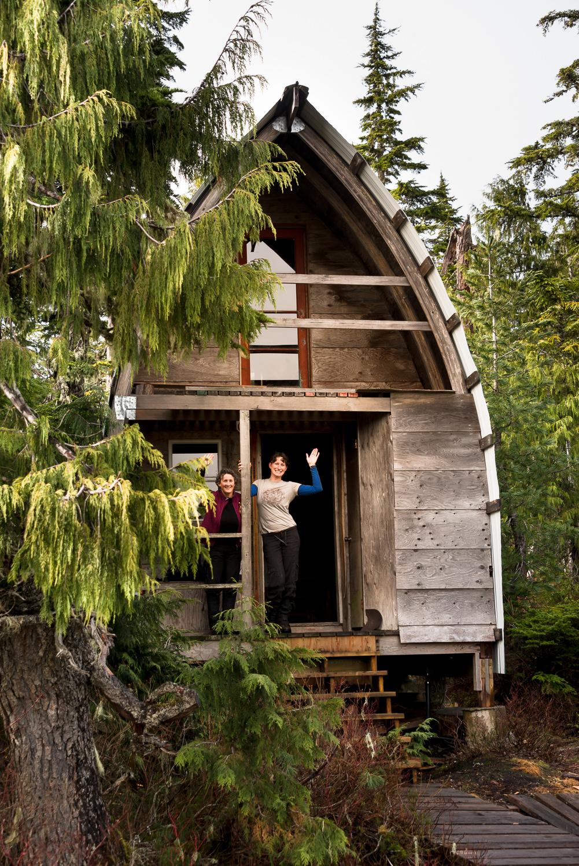 Meadow Hut on the Kludahk trail