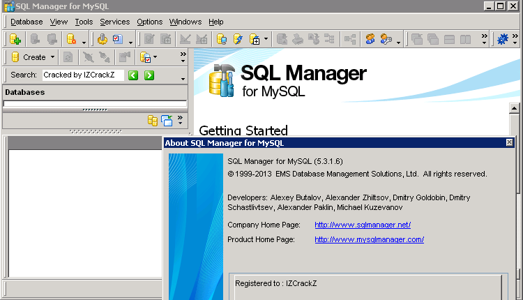 Ems sql manager for mysql crackEMS SQL Manager (All version) - Кряки, серий
