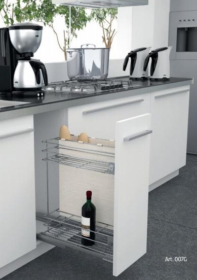 Sfera 3 accesorios de interior para mueble de cocina for Accesorios para interiores de armarios de cocina