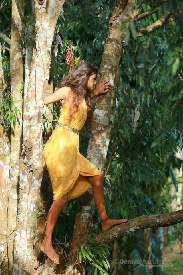 Rudrani Dias yellow