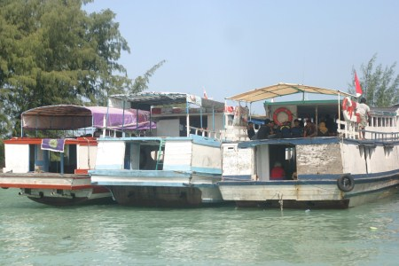 akses transportasi ke pulau tidung