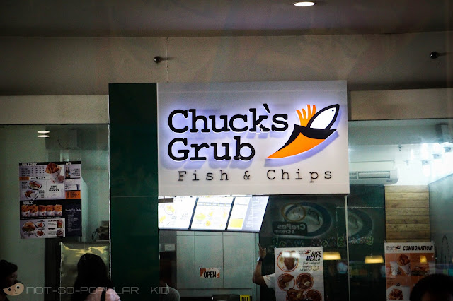 CHUCK'S GRUB Fish & Chips in Mall of Asia
