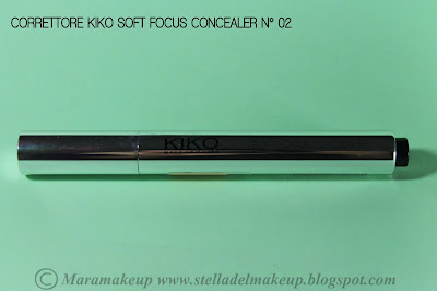 correttore kiko soft focus concealer n° 02