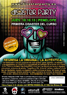 Disaster Party 10 de Octubre