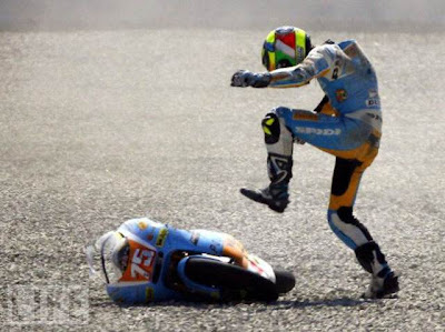 Incrives quedas de moto