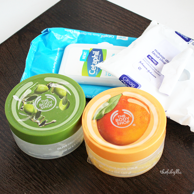 the body shop body curb, cetaphil, review