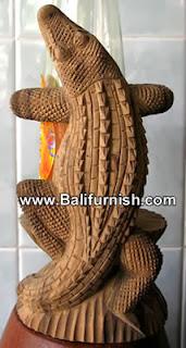 Bottle Holder Wood Carvings from Bali