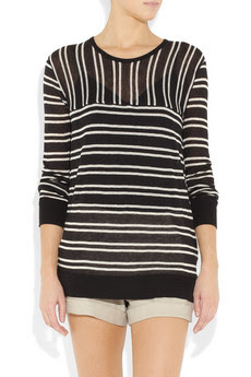 Striped Lightweight Sweater