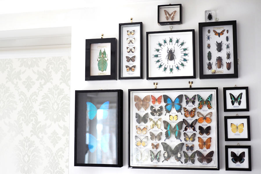 Eclectic living room decor and DIY