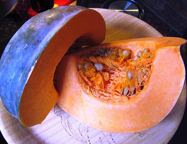 gnocchi di zucca al casera stagionato