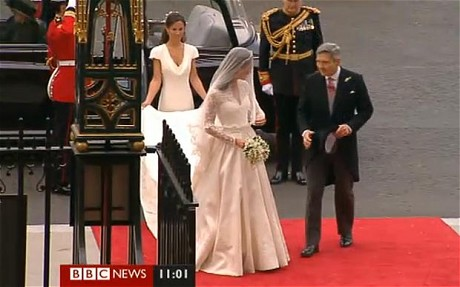 Kate Middleton meets her Prince