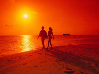 Love Couple Sunset HD Wallpaper