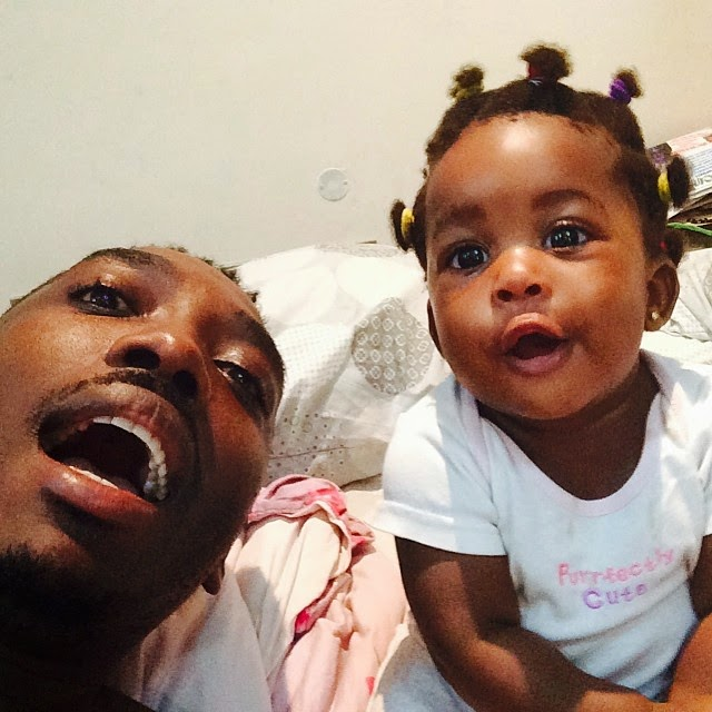 Comedian Bovi Shares Photos of His Cute Daughter….