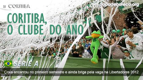 Coritiba é o clube do ano