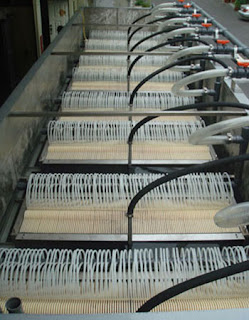Lắp màng MBR xử lý nước thải
