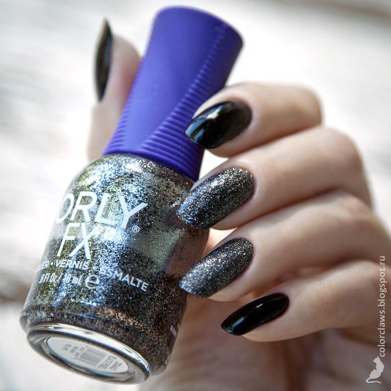 Kiko #275 + Orly Black Pixel