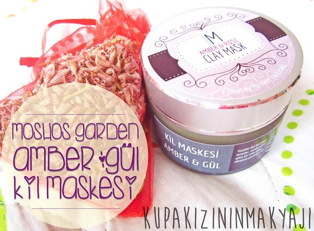 Moshos Garden Amber&Gül Kil Maskesi