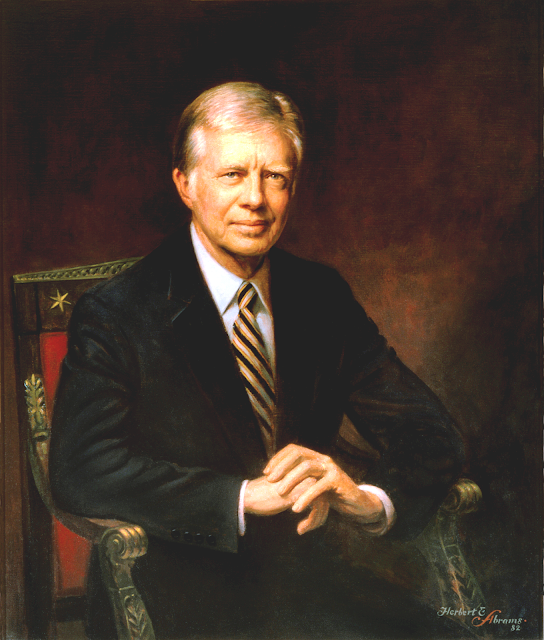 a biography of jimmy carter the president of the united states