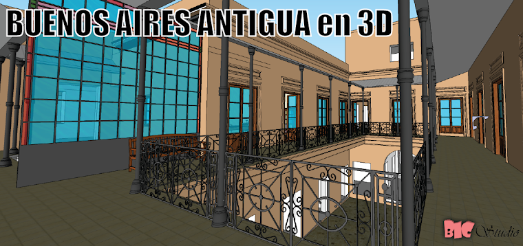 Buenos Aires Antiguo 3D